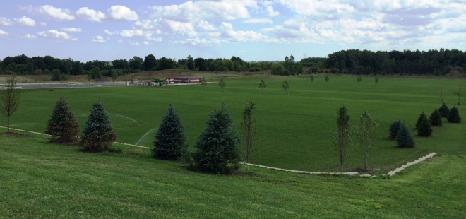 RSC is building four practice fields in Auburn Hills