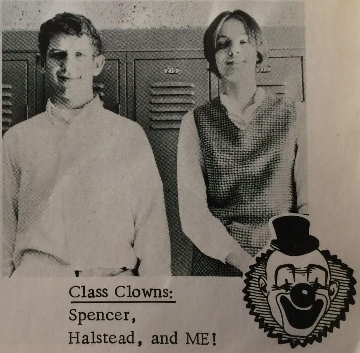 1969 - 9th Grade Mock Election - Jeff's humor goes way back