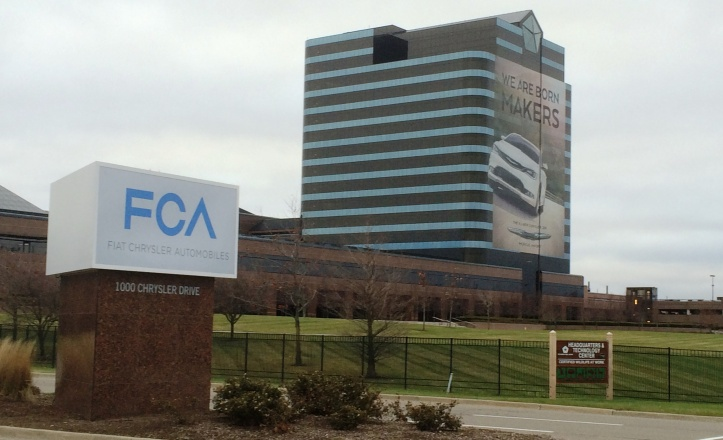 Chrysler Group LLC became FCA US LLC effective 12-16-14