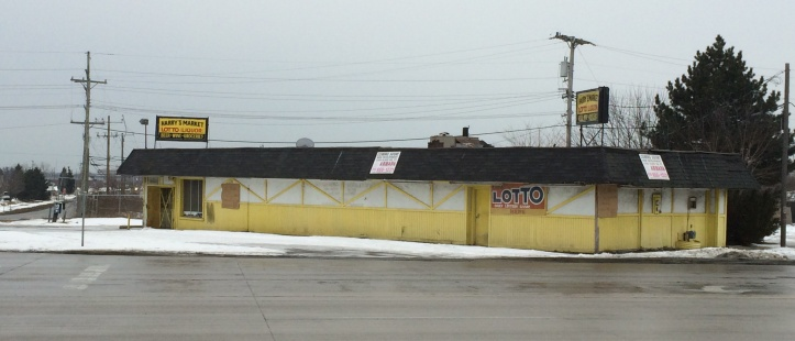 The vacant Harry's Market Store at 2485 N. Opdyke Road will soon be gone.