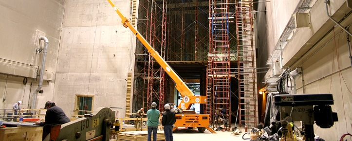 CCC spent 33 months on a mammoth project to renovate NASA's Glenn Research Center in Cleveland, Ohio.  The facility is used to test spacecraft for the challenging environments experienced during spaceflight.  CCC handled the specialty concrete work, which took over 50,000 man-hours to complete.