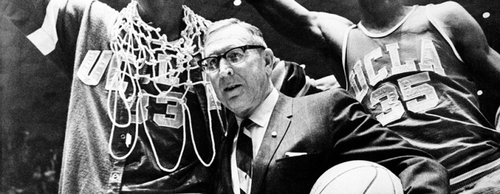 Coach Wooden won a record number of games and championships.  He did it the right way - with integrity.