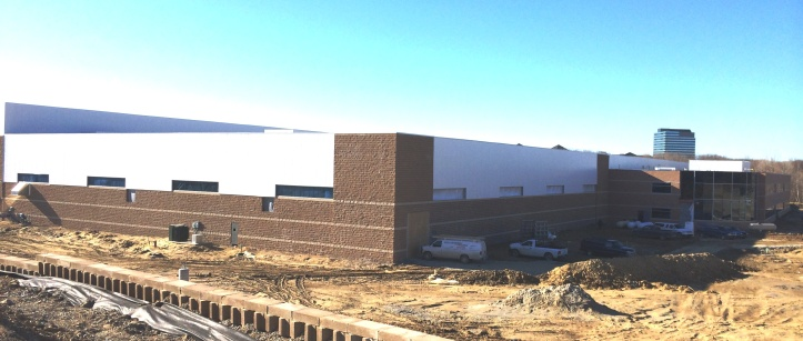 The 213,979 sq. ft. project experienced only minor delays during the cold winter months