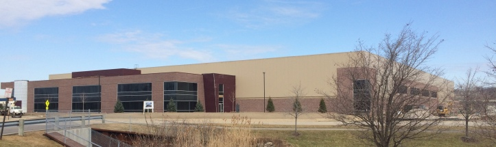Visioneering specializes in assembly tooling systems for the aerospace and defense industry.  The new building will house their corporate offices, a design center, and manufacturing operations.