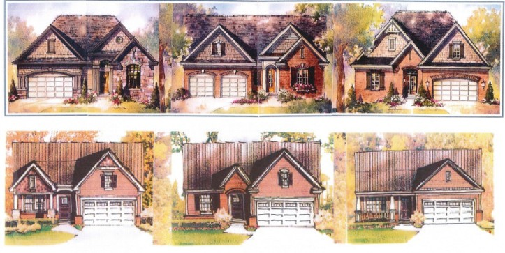 Home prices will range from $280,000 to $350,000.  Floor plans will range from 1,350 to 1,855 sq. ft. in size.