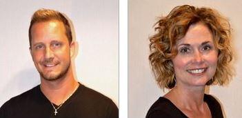 Serenity Salon Co-Owners, Brandon Rankin and Robin Bachan
