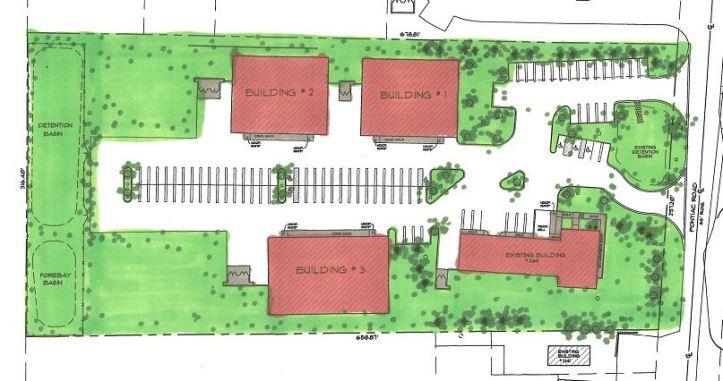 SK - new buildings color rendering