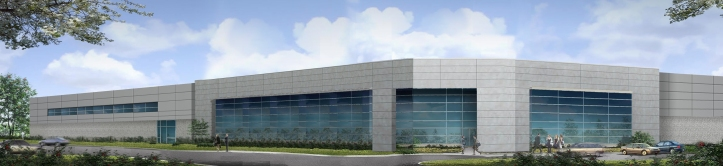Façade rendering of the proposed building
