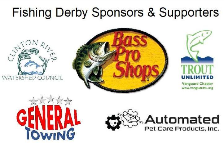Fishing derby sponsors w title