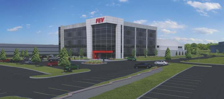 Rendering of the proposed 105,552 sq. ft. facility