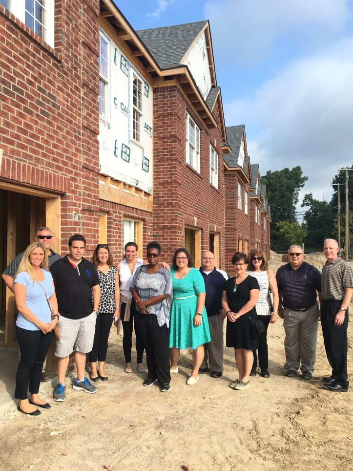 Learned about residential construction inspection at the new Mosaic project at the southeast corner of Baldwin and Collier