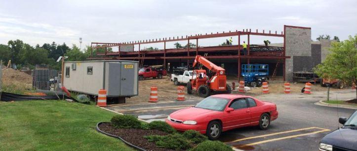Auburn Hills Marketplace under construction