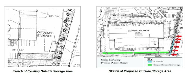 Storage expansion - 2004 permit and current request