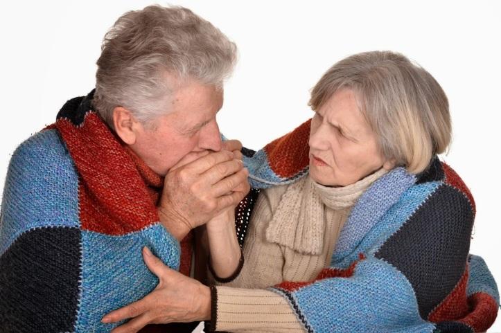 elderly-cold
