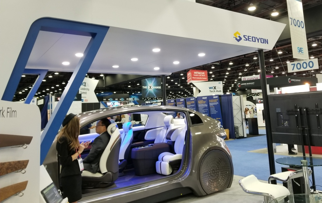 Sae World Congress >> The Automotive Industry Is Embracing Mobility Inside