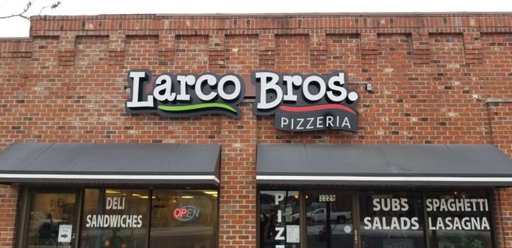 Larco Bros Sign