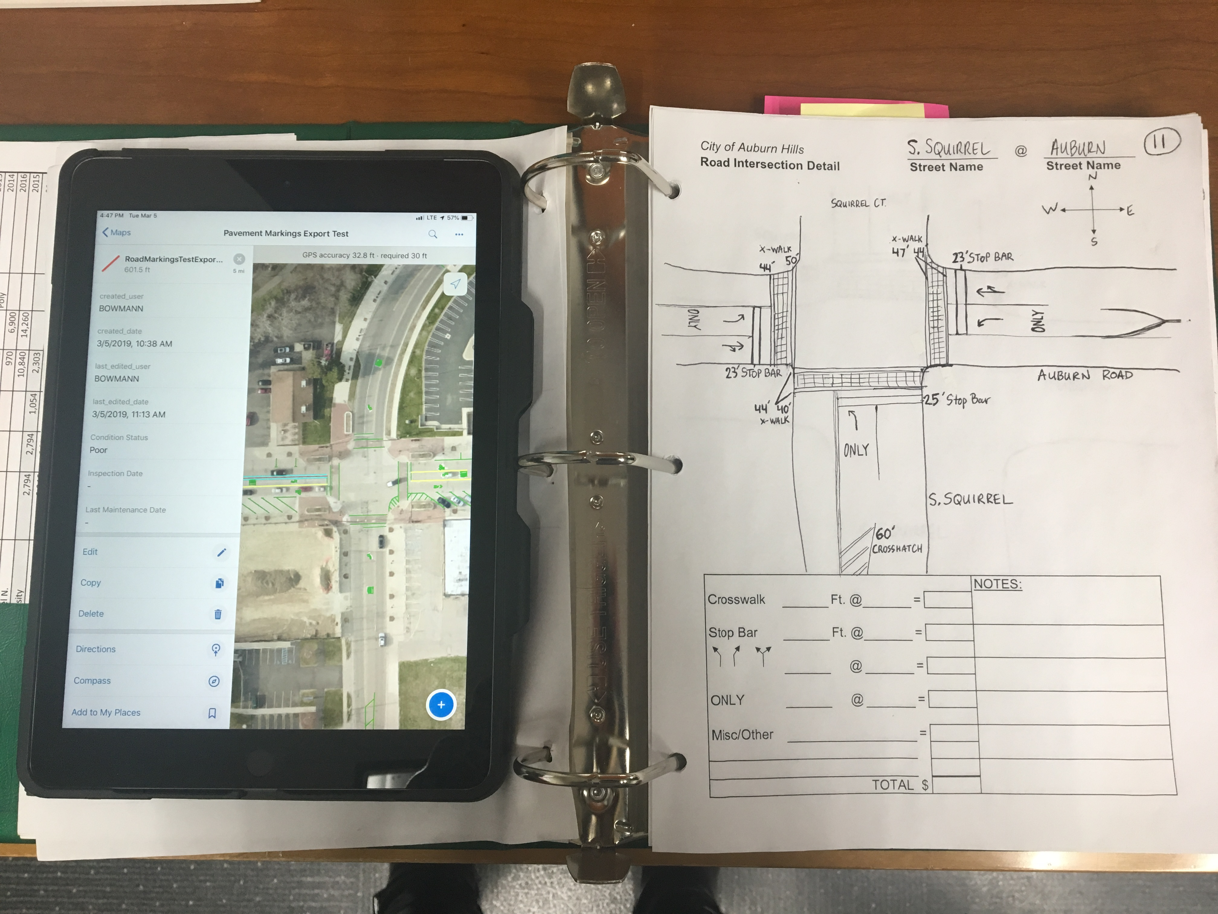 Moving from Paper to Ipads – Inside Auburn Hills